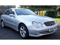 2005 Mercedes Benz CLK 270 CDI, Auto, Avantgarde, Coupe, Low Mileage.