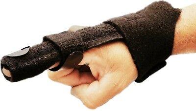 Relief Trigger Finger Splint Brace Straightening Curved Locked  Mallet