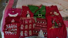 Girls Christmas Clothes Bundle