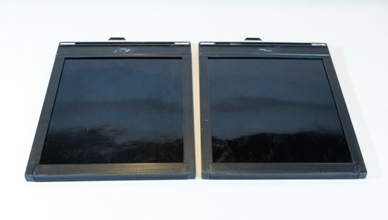 Set of 2 FIDELITY DELUXE 8x10 FILM HOLDERS in Excellent Condition