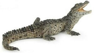 Papo-Baby-Crocodile-Wild-Gator-Swamp-Animal-Pretend-Play-50137-NEW