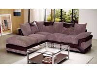 BRAND NEW / Get a DINO 3+2 sofa set for £440 OR Corner Sofa for £480 * SWIVEL CHAIRS/FOOTSTOOLS *