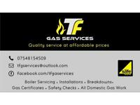 Gas, plumbing and heating services