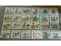 24 hardback children's phonics books