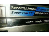 Vhs video player JVC