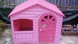 Pink playhouse