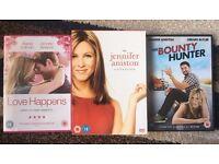 7 Jennifer Aniston DVDs