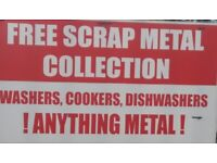 FREE SCRAP METAL COLLECTION. MERSEYSIDE ST HELENS WIGAN SURROUNDING AREAS