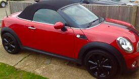 Mini Cooper Roadster convertible