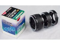 Kenko Extension Tube Set – Canon fit