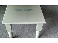 Shabby chic occasional tables (