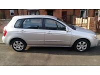 KIA CERATO 1.6 petrol low mileage 78600 long MOT 5dr