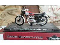 Triumph, and Honda fire blade model motorcycles