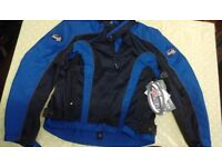 Rst Vento armoured summer textlie motorcycle jacket quality item medium BNWT £30