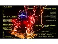 DJ + SOUND + LIGHTS HIRE - [ From* £ 50.00/- for 1 EVENT ]