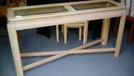 Hall table.