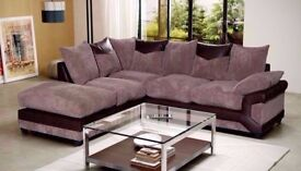 * * The Dino Fabric Sofa Range * * Corner Sofa With Stool, Sofa Sets, Footstools, Swivel Chairs *