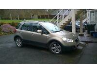 Fiat sedici eleganza 2006 1.6
