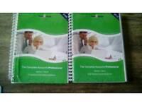 Sage 50 accounts books