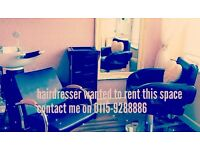 2 spaces available to rent nails and hairdressing or other beauty business can be discussed.