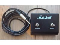 Marshall Guitar Amp Footswitch (Channel & Reverb)