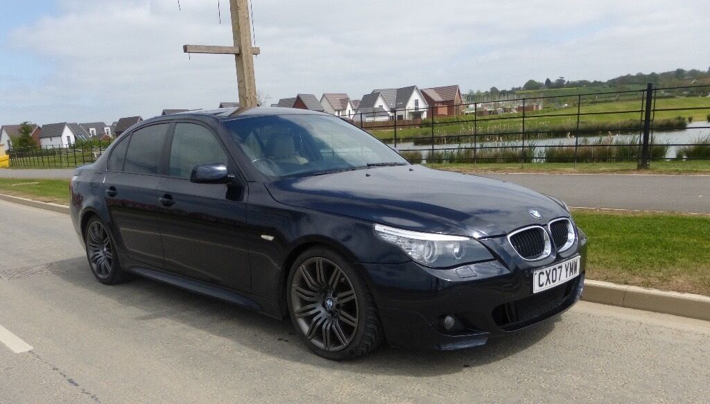 Bmw 5 Series M Sport Carbon Black 520 Diesel In Swindon