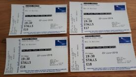 4 theatre tickets to see 'The Play That Goes Wrong'