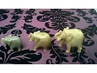 Set of lovely vintage elephants