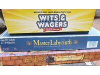 3x board games - £5-10 each, less if you take them all