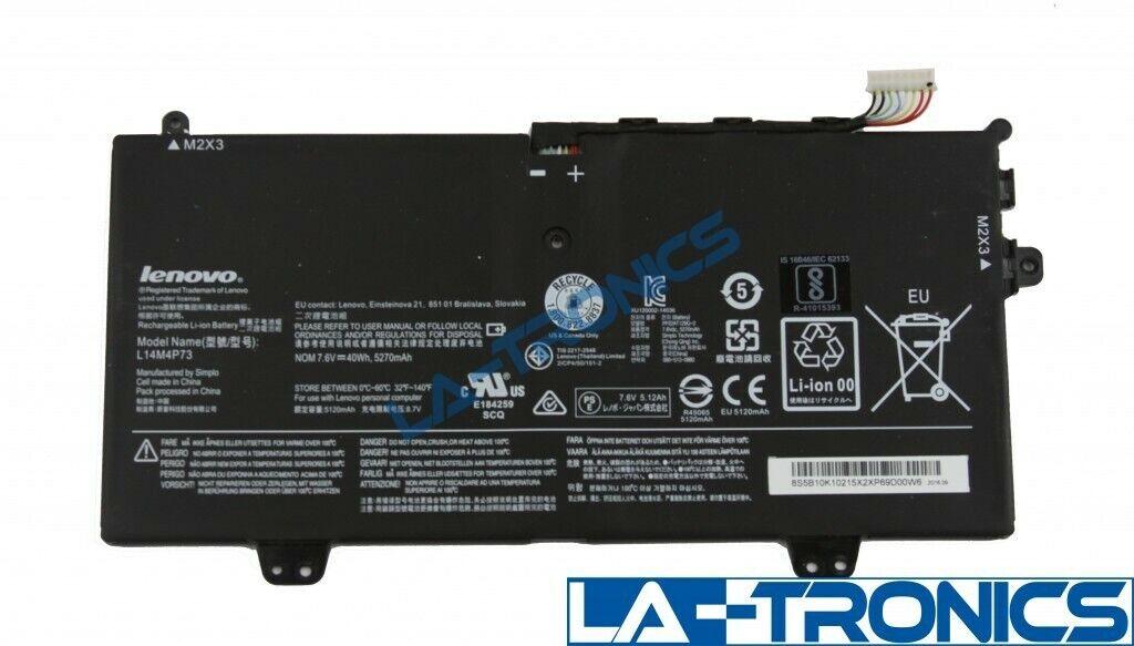 Genuine Lenovo Yoga 700-11ISK 7.6V Battery L14M4P73 5B10K10215