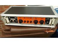 Orange OB1 - 500 bass guitar amp in 2U shallow case 500 watts at 4ohm.