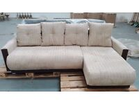 INSIGNIA CORNER SOFA | CHOICE CORNER | SAND or JEANS | FREE FAST DELIVERY*