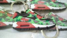 NEW - NIKE AIR MAX 90 CAMO TRAINER KEYCHAINS **FREE SHIPPING** **PAYPAL ACCEPTED**