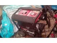 Gibbon 240v 4.5 kva generator