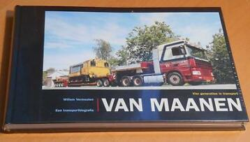 Vier generaties in transport Van Maanen boek 9789080042353