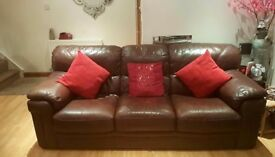 3 piece sofa suite & recliners