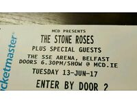 Stone Roses 2 tickets