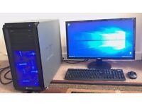 Custom Built Gaming Desktop Computer PC