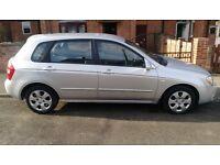 Kia Cerato 2005 petrol 1.6 low mileage long MOT
