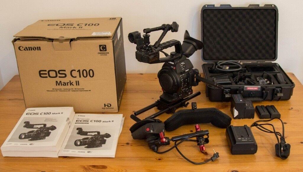 C100 Mk2 + Ninja Blade Ext  Recorder + Accessories (Shoulder Rig) | in  Kings Cross, London | Gumtree