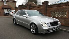 Mercedes E270 CDI 2.7 Avantgarge . FULLY LOADED. LOW MILEAGE