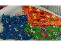 Lovely bundle of baby girls handmade shawls and ponshaw