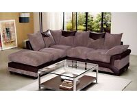 - DINO JUMBO CORD CORNER / 3+2 SOFA SET WITH - 14 DAYS - MONEY BACK GUARANTEE - SAME DAY DELIVERY