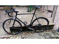 Charge Juicer 58cm steel frame road bike Tiagra group set
