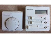 Honeywell central heating control and thermostat