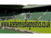TENNIS LESSONS FROM BEGINNERS TO ADVANCED PLAYERS FOR MORE INFO.