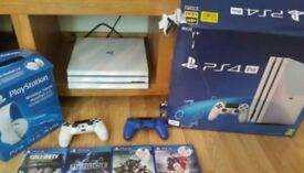 PS4 PRO ALL BOXED AND READY TO GO CAN POST