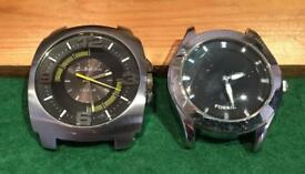 Two Diesel and one Fossil Watch