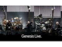 Genesis concert London tickets x2