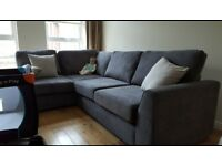 Corner sofa for sale £600, 6 months old